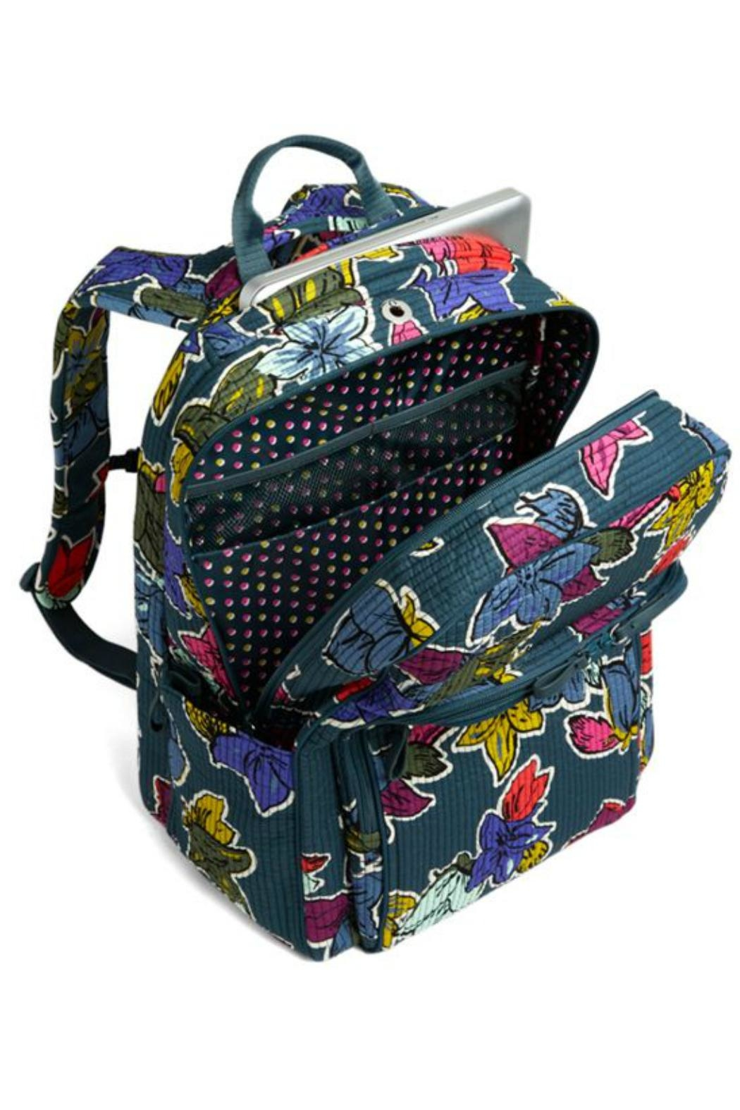 Vera Bradley Falling Flowers Delux-Campus - Front Full Image