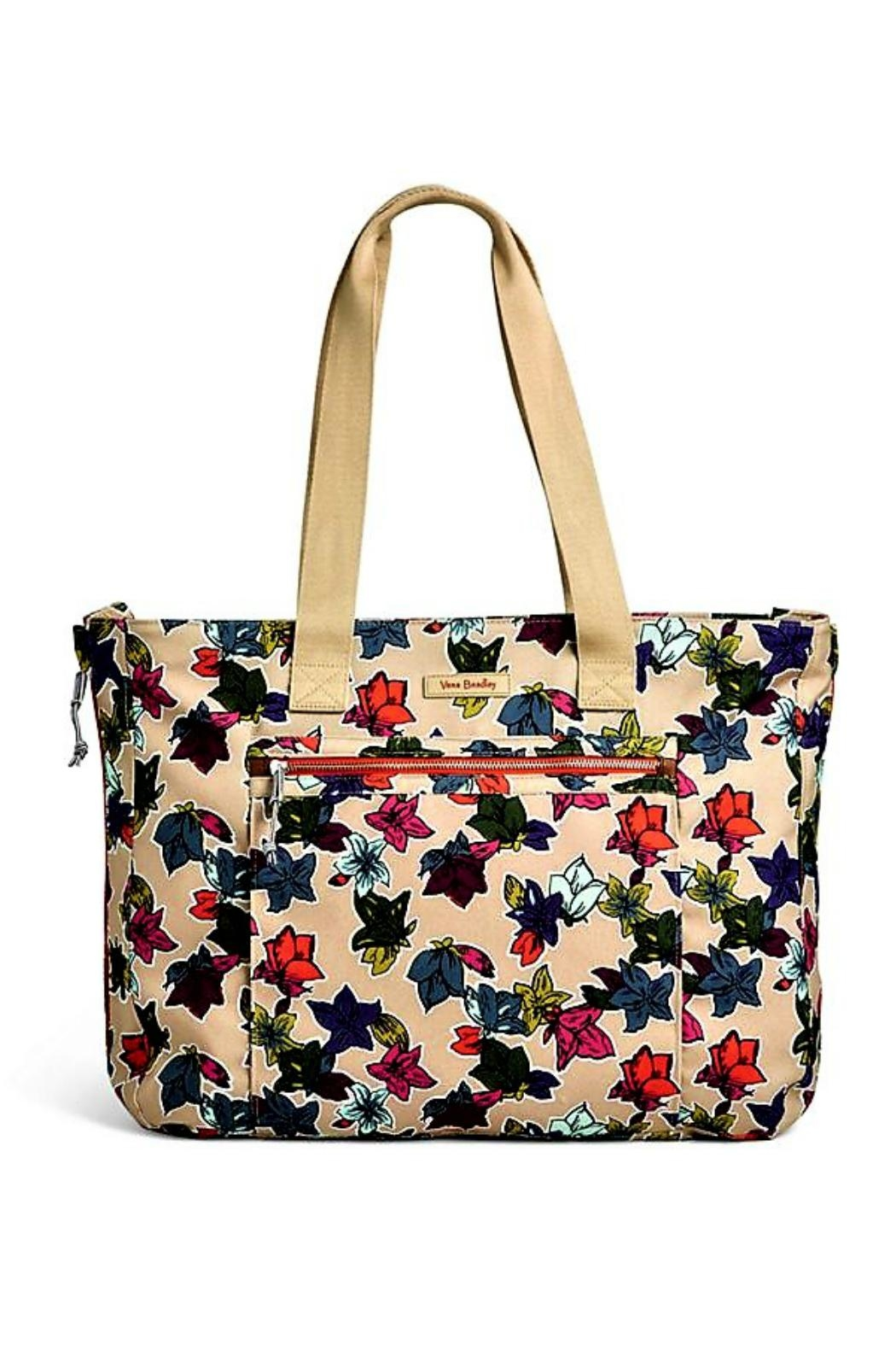 Vera Bradley Falling Flowers Expandable Bag - Main Image
