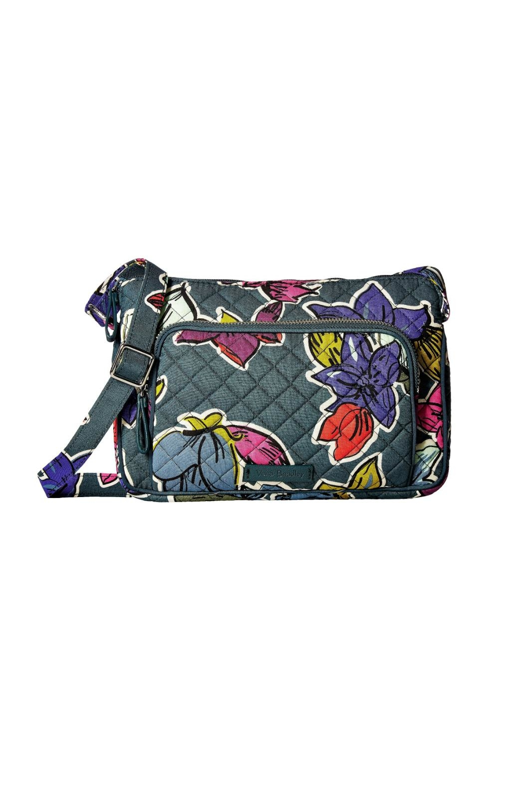 Vera Bradley Falling Flowers Hipster - Front Cropped Image