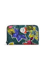 Vera Bradley Falling Flowers Turnlock - Product Mini Image