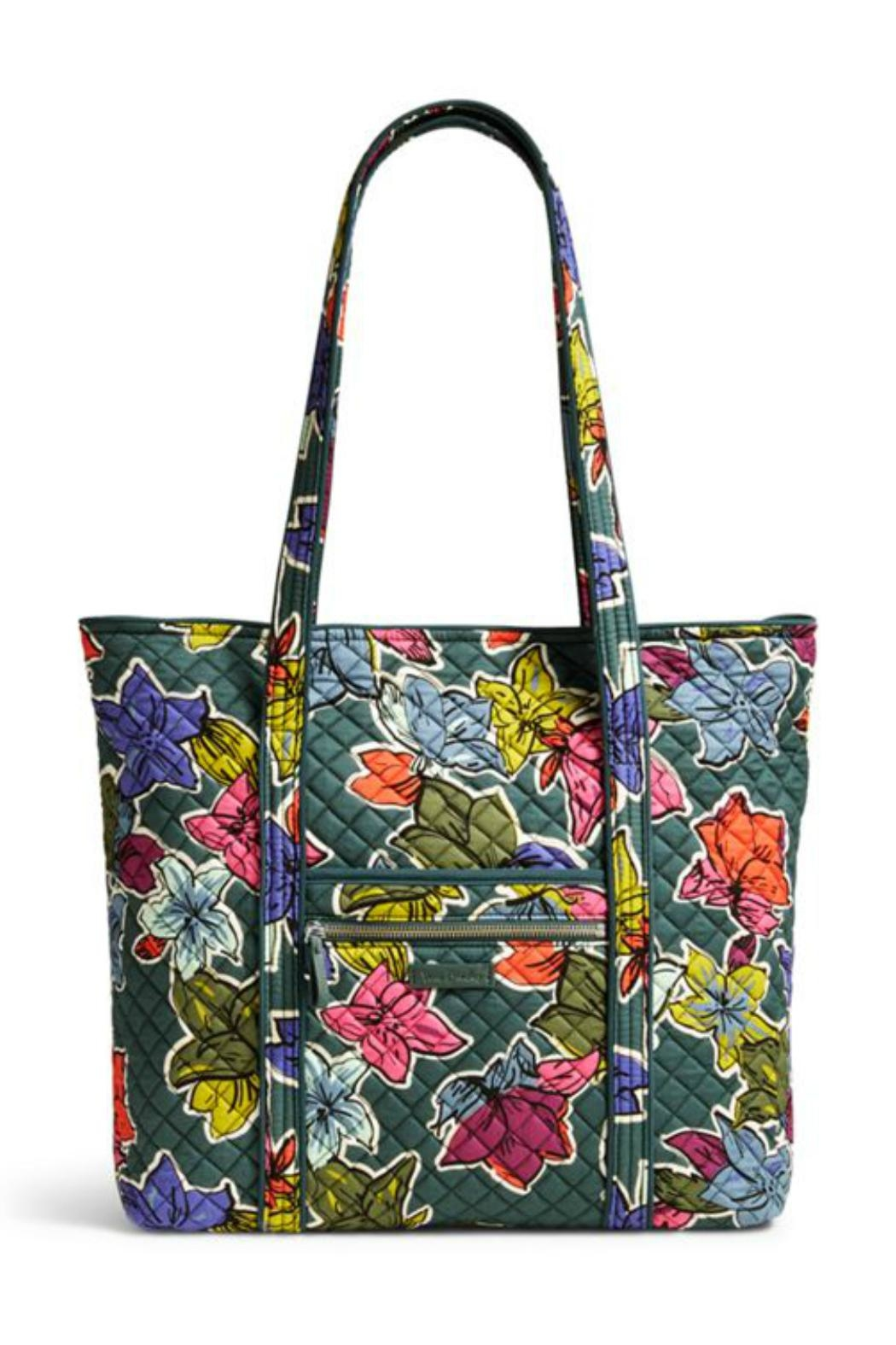 Vera Bradley Falling Flowers Vera-Tote from Kentucky by Mimi s Gift ... 2683a4aa60