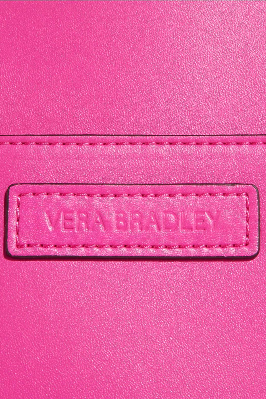 Vera Bradley Faux Leather Fuchsia Totes - Front Full Image