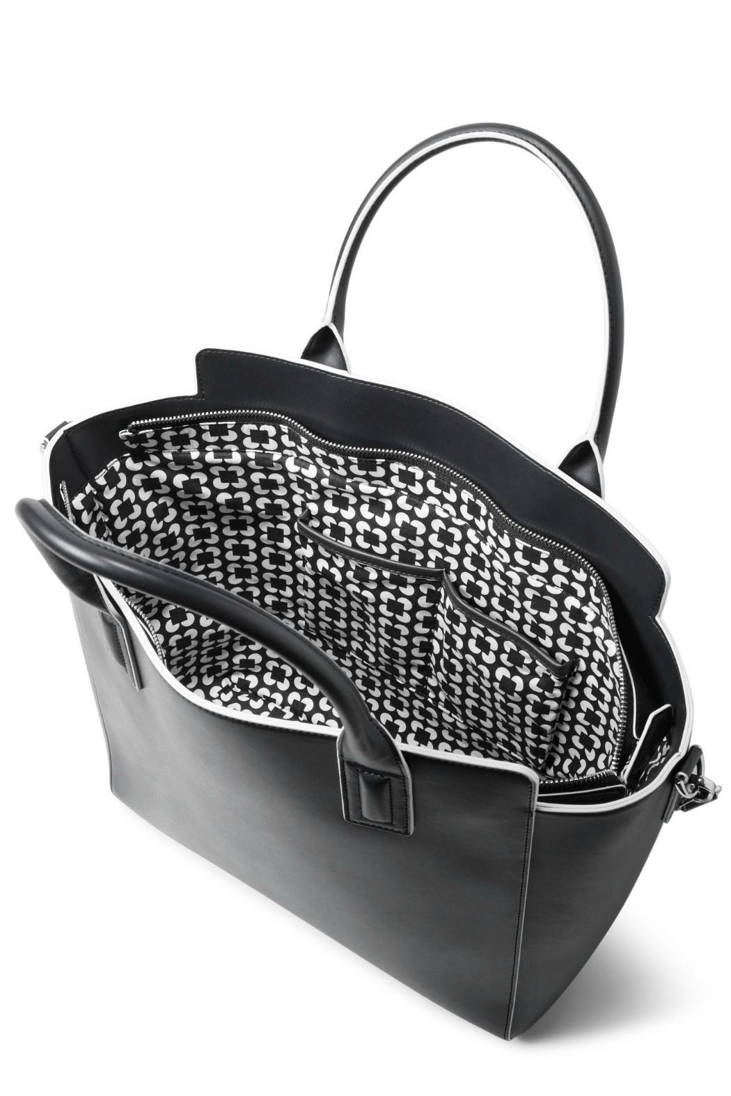 Vera Bradley Faux Leather Tote - Back Cropped Image