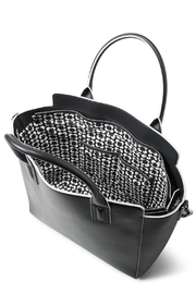 Vera Bradley Faux Leather Tote - Back cropped