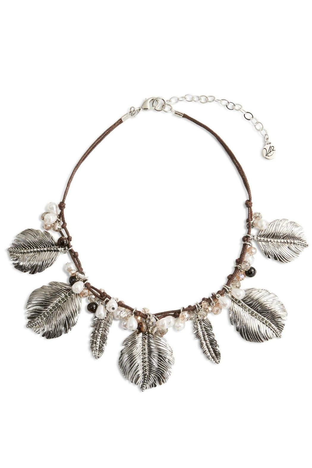 Vera Bradley Feathers Statement Necklace - Main Image