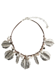 Vera Bradley Feathers Statement Necklace - Product Mini Image