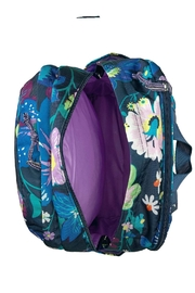 Vera Bradley Firefly Garden Grand-Backpack - Back cropped
