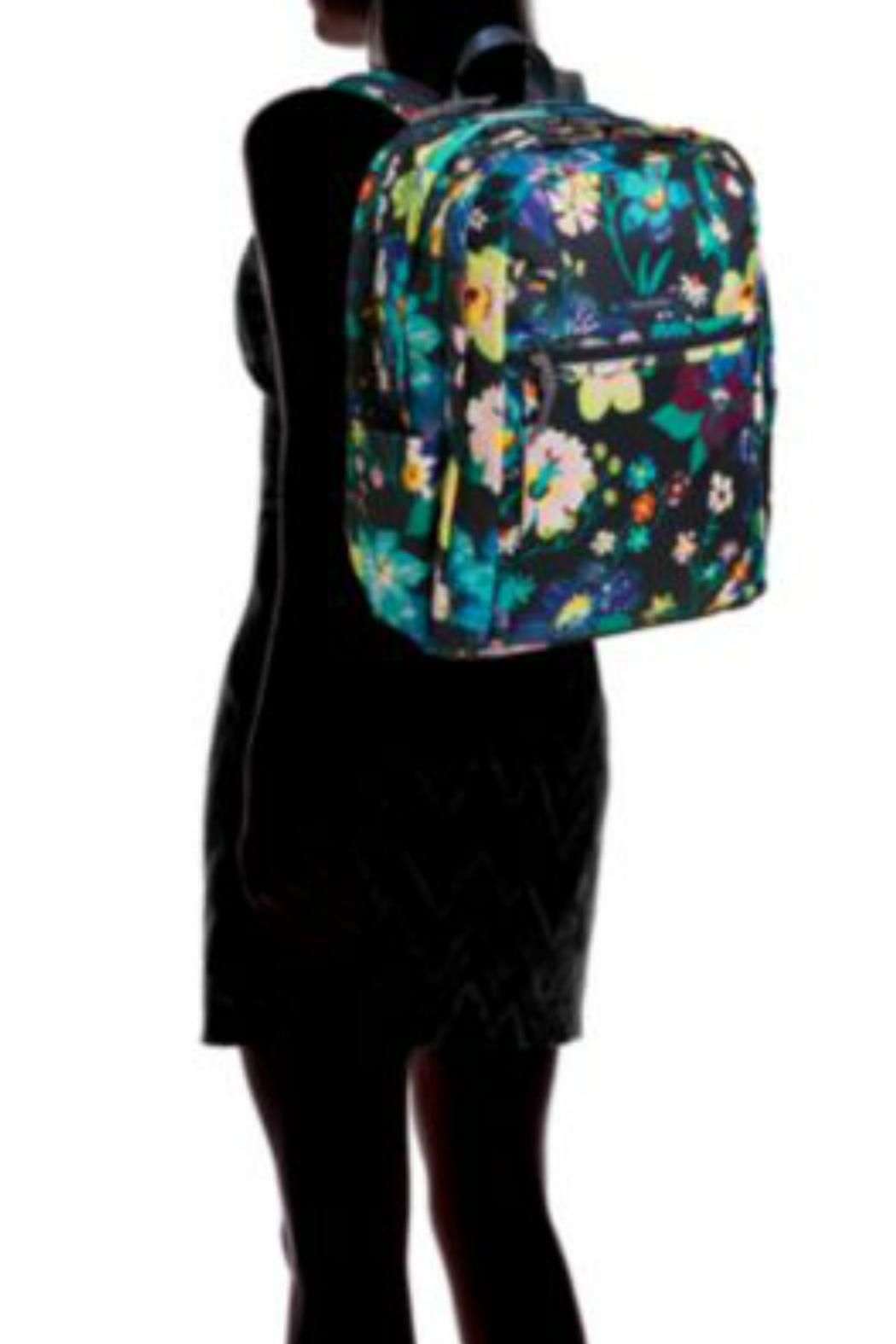 Vera Bradley Firefly Garden Grand-Backpack - Side Cropped Image