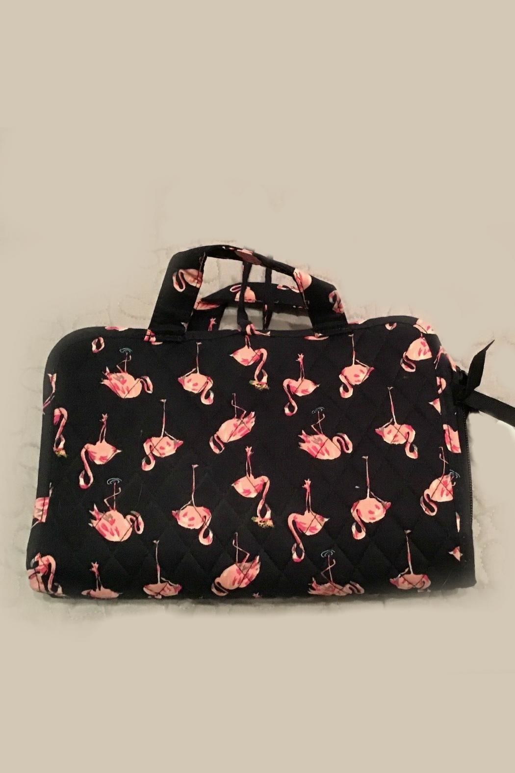 Vera Bradley Flamingo Fiesta Compact-Organizer - Front Cropped Image