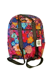Vera Bradley Floral Fiesta Backpack - Front full body