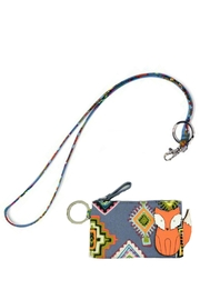 Vera Bradley Fox Zip-Id/lanyard Set - Product Mini Image