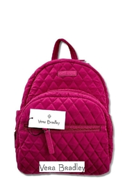 Vera Bradley Fuchsia Compact Essential-Backpack - Front cropped