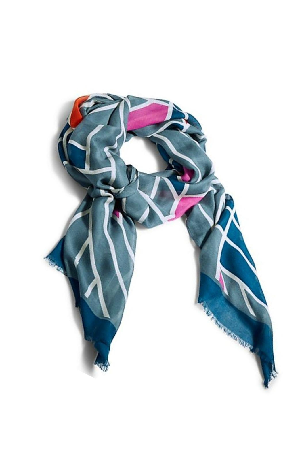 Vera Bradley Geo Medallions Scarf - Front Cropped Image
