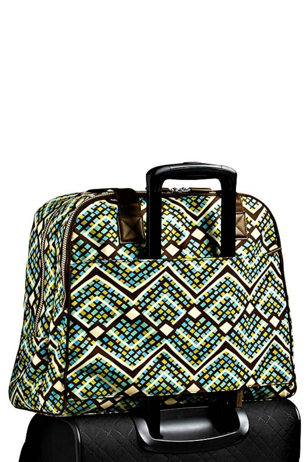 Vera Bradley Rain Forest Carry-On - Back Cropped Image