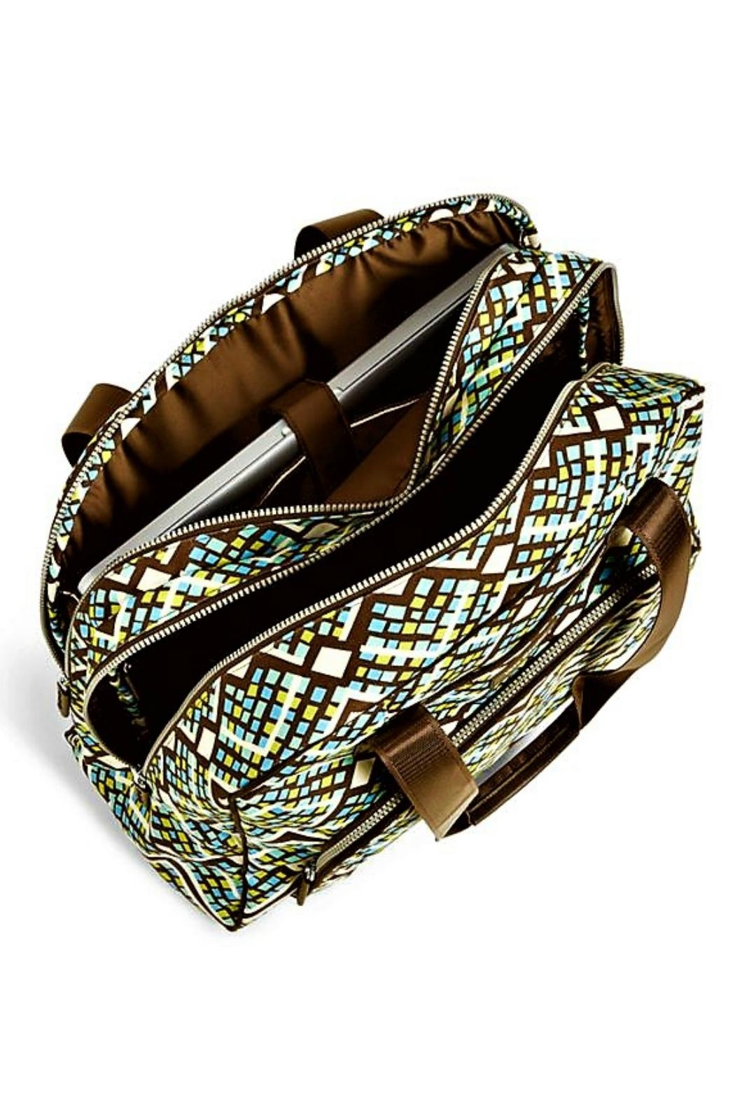 Vera Bradley Rain Forest Carry-On - Side Cropped Image
