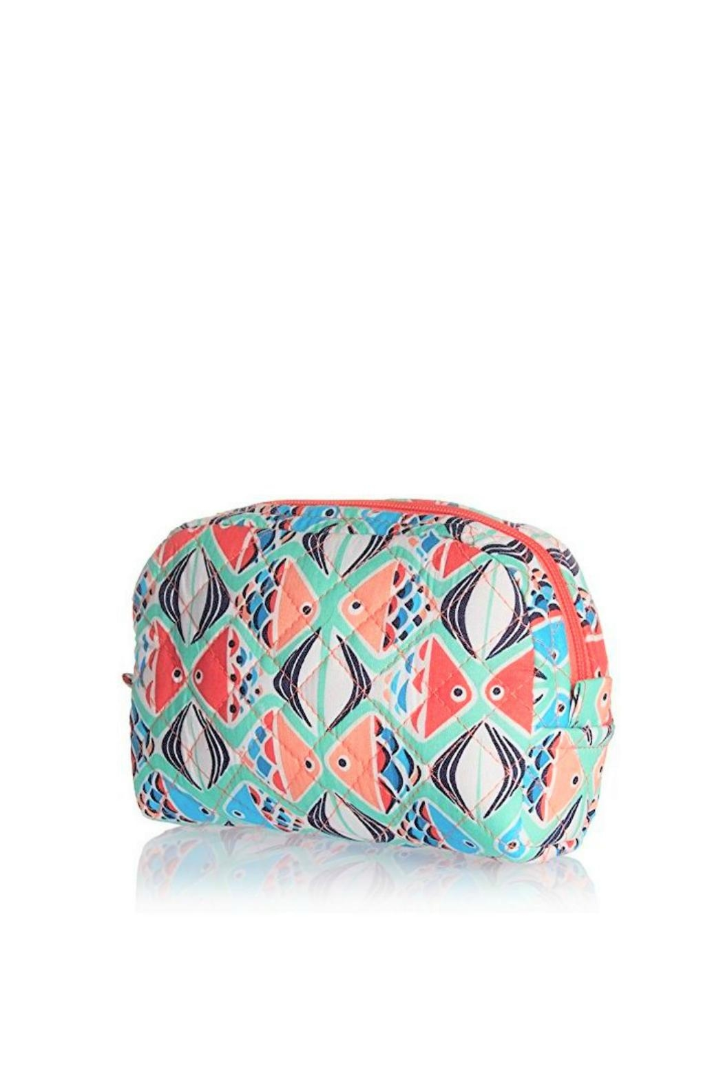 Vera Bradley Go Fish Small-Cosmetic - Side Cropped Image
