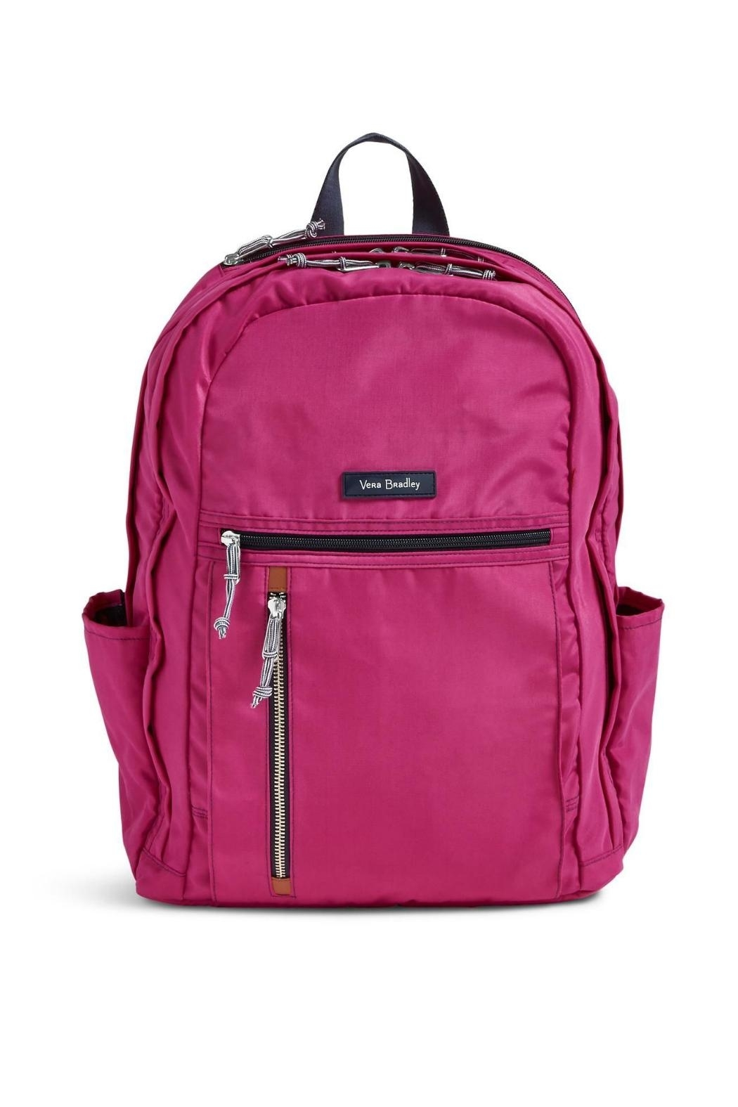Vera Bradley Orchid Grand Laptop-Backpack - Main Image