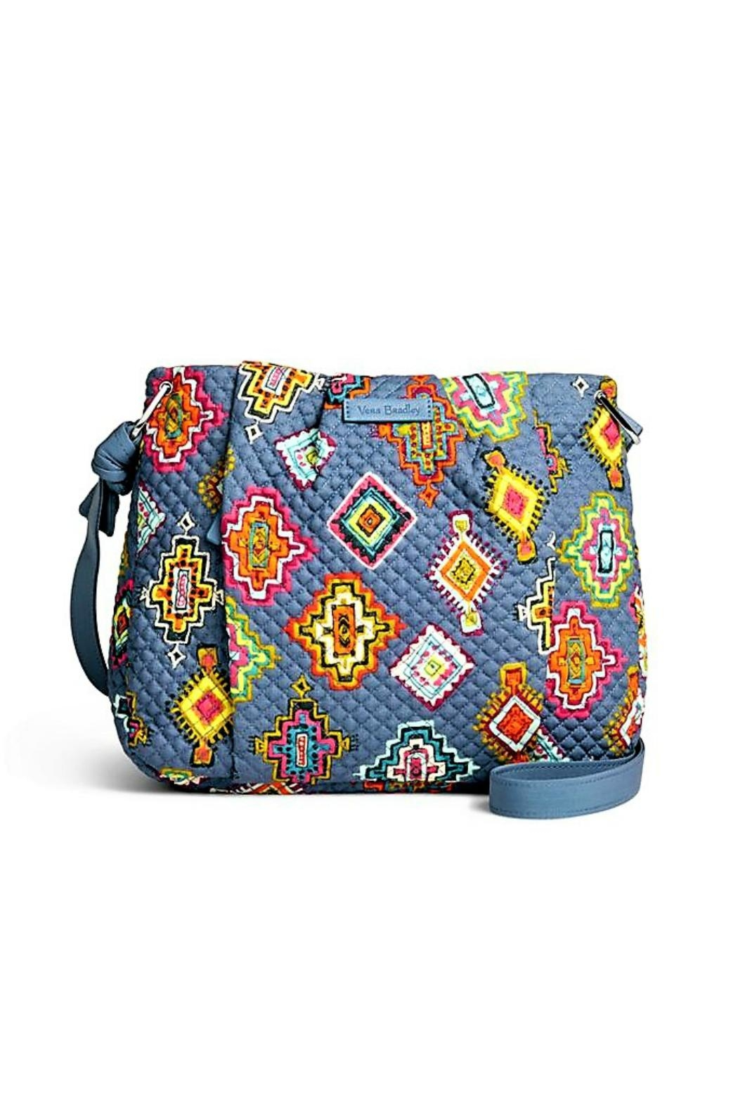 Vera Bradley Hadley Painted Medallions Crossbody - Front Cropped Image