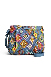 Vera Bradley Hadley Painted Medallions Crossbody - Front cropped