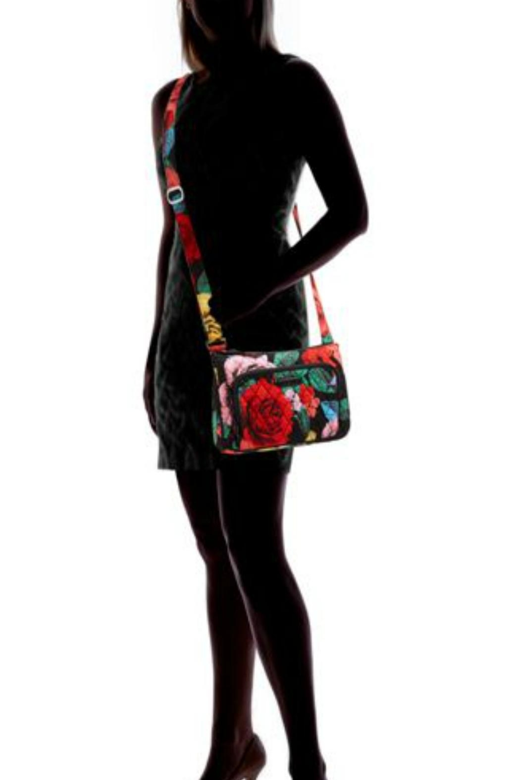 Vera Bradley Havana Rose Little-Hipster - Back Cropped Image