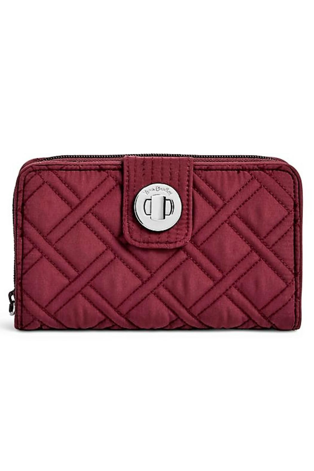 Vera Bradley Hawthorn Turnlock Wallet - Front Cropped Image