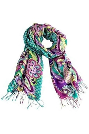 Vera Bradley Heather Fringed Scarf - Product Mini Image
