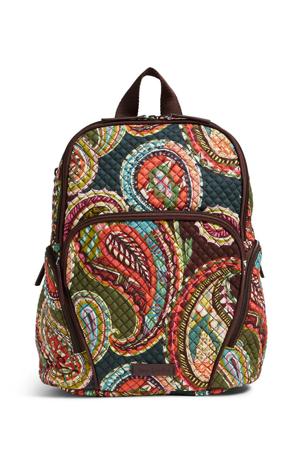 7ef812930 Vera Bradley Heirloom Paisley Hadley Backpack - Front Cropped Image