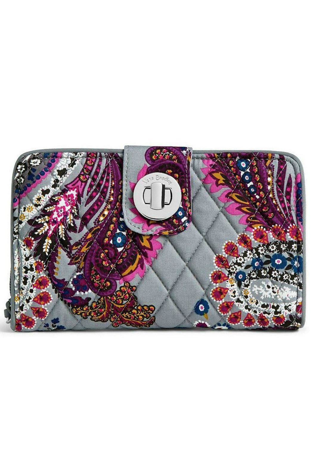 Vera Bradley Heritage Paisley Turnlock - Front Cropped Image