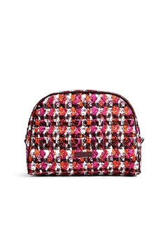 Shoptiques Product: Houndstooth Tweed Cosmetic Bag