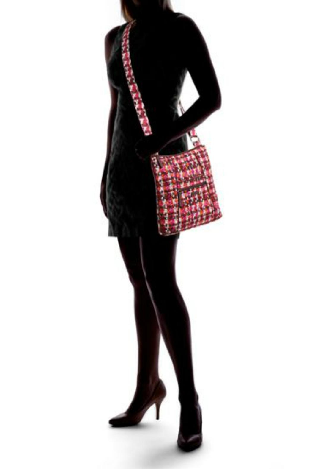 Vera Bradley Houndstooth Tweed Hipster - Side Cropped Image