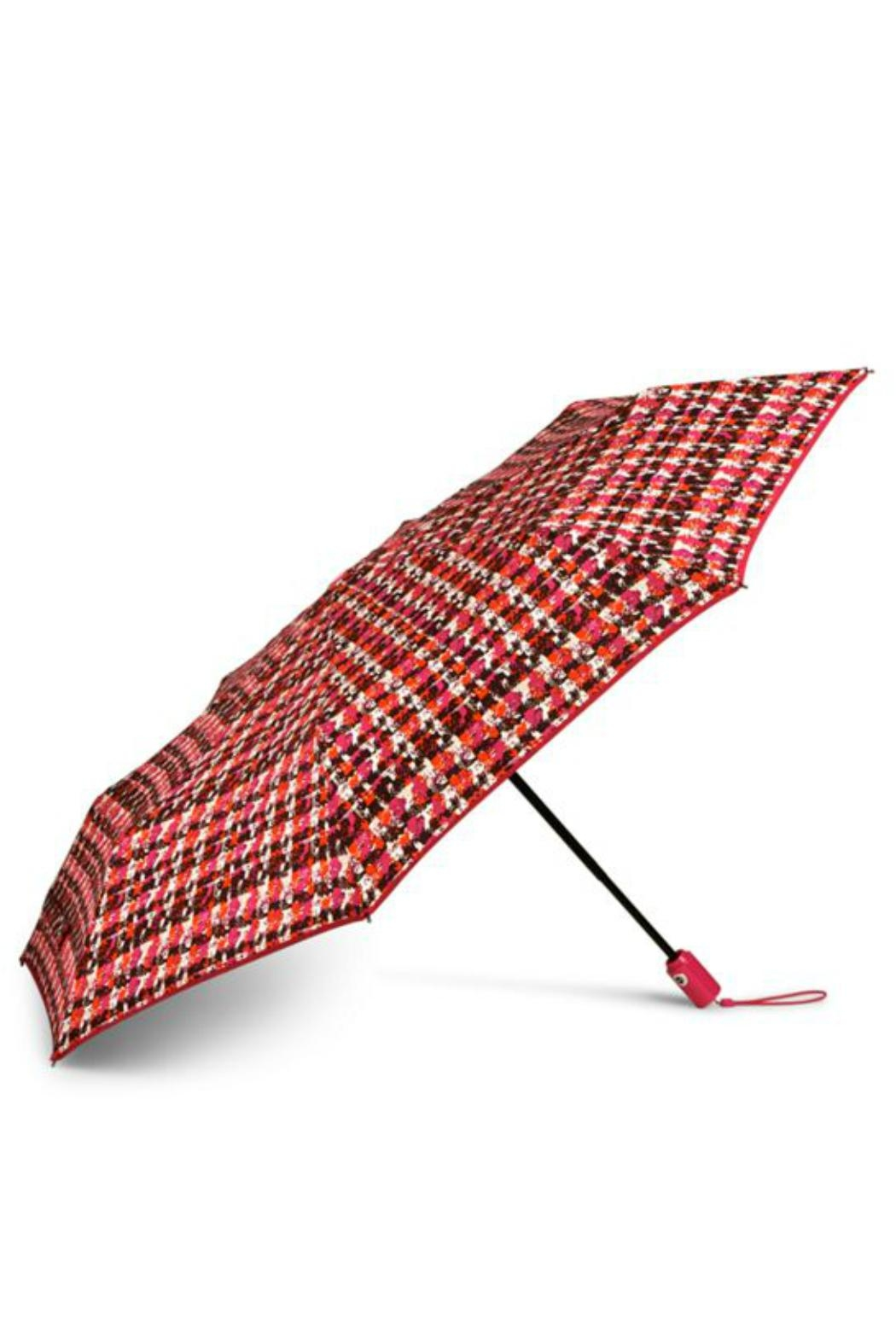 Vera Bradley Houndstooth Tweed Umbrella - Front Cropped Image
