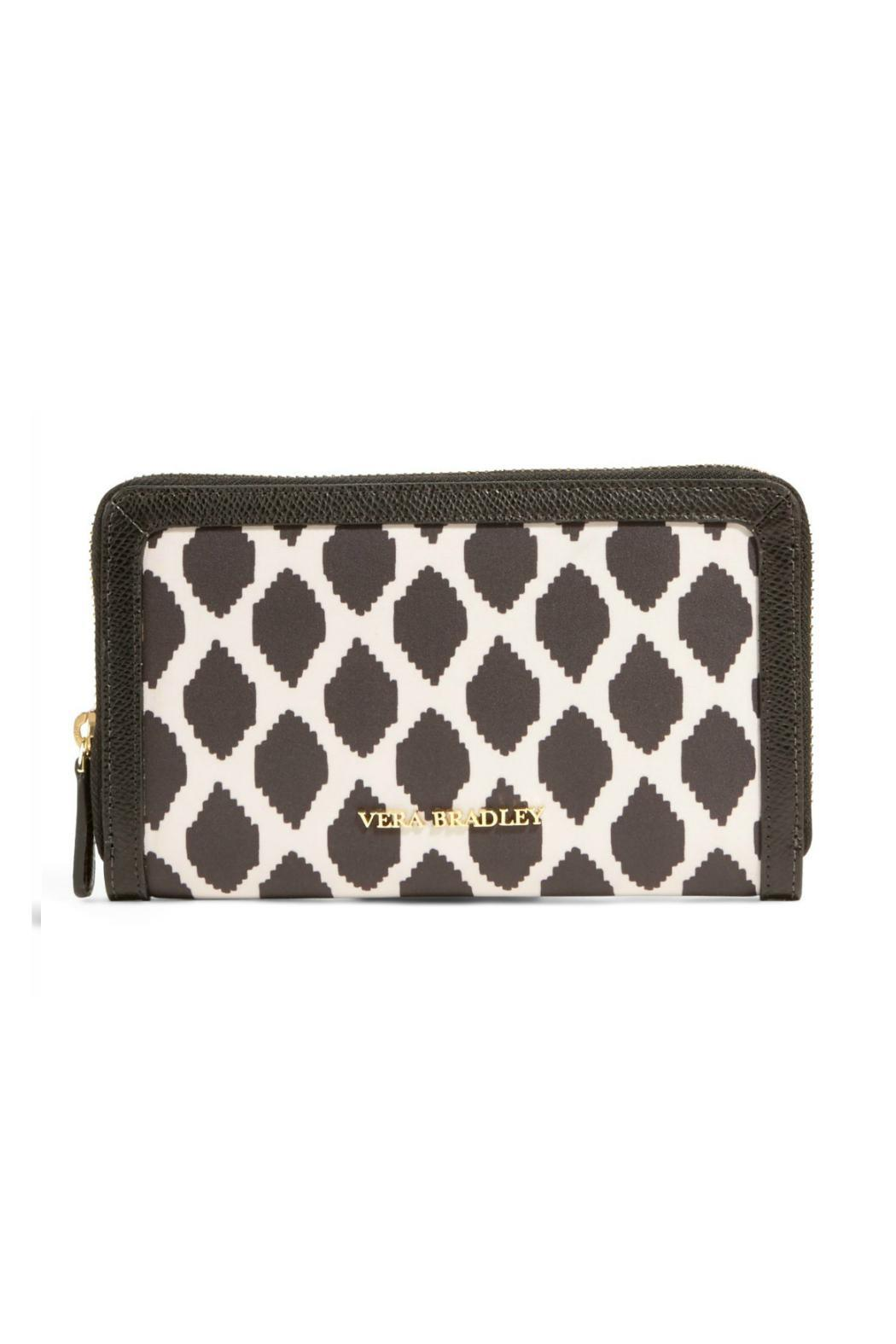 Vera Bradley Ikat Spots Accordian Wallet - Front Cropped Image