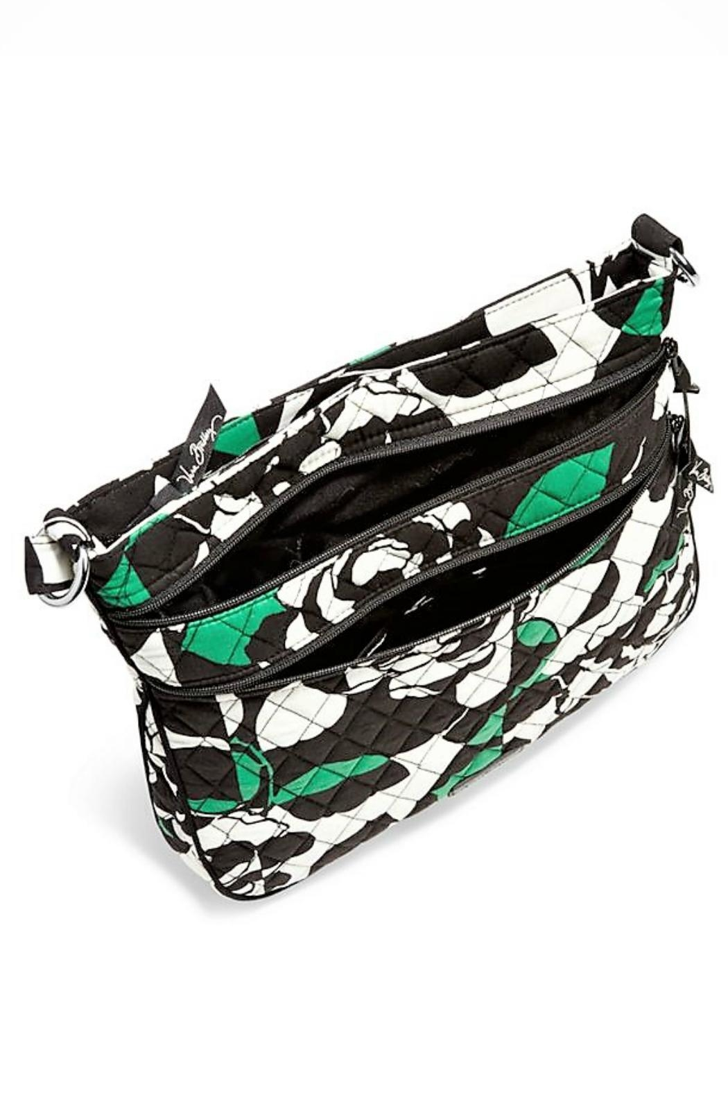 Vera Bradley Rose Triple Zip Crossbody - Side Cropped Image