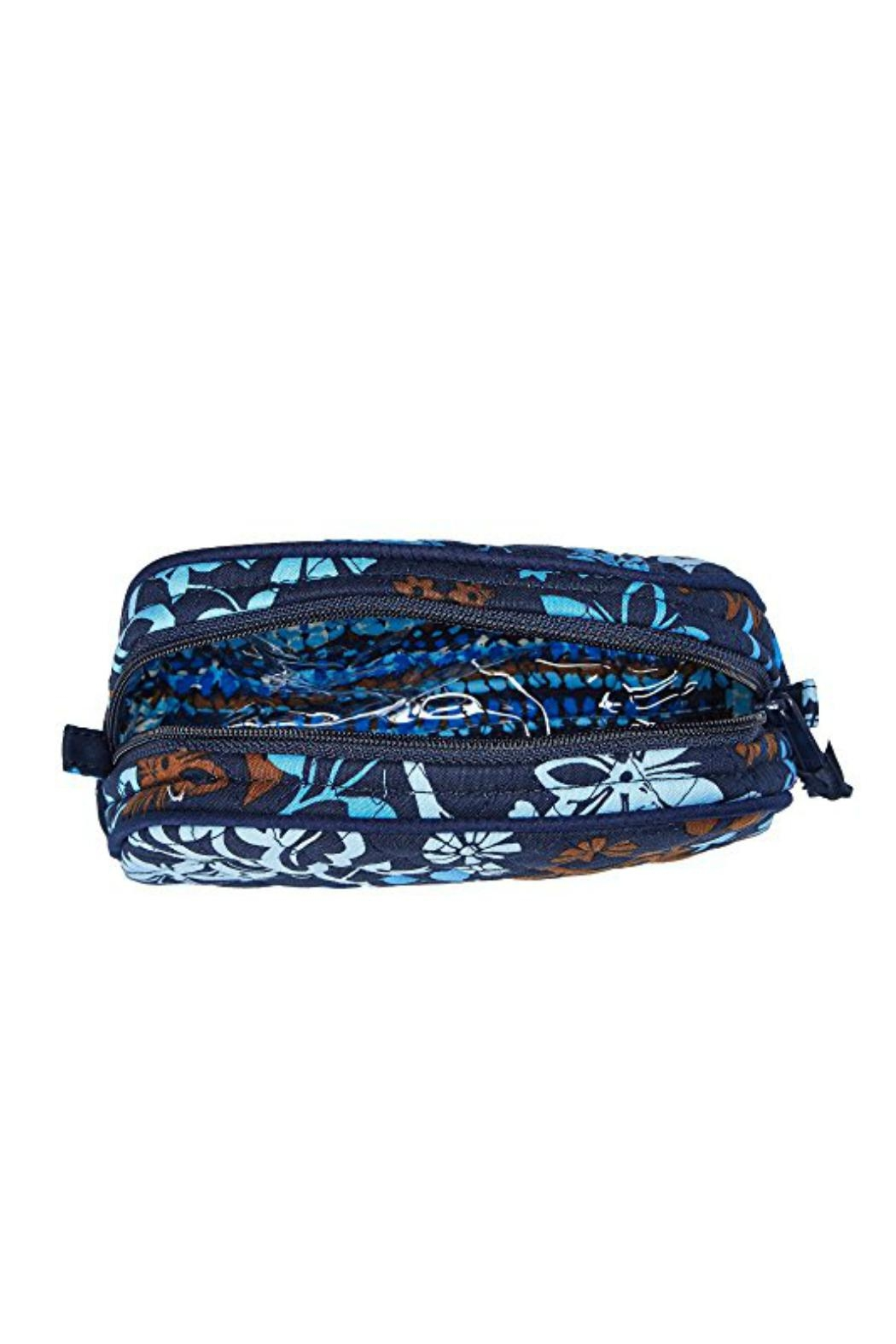 Vera Bradley Java Floral Cosmetic-Case - Side Cropped Image