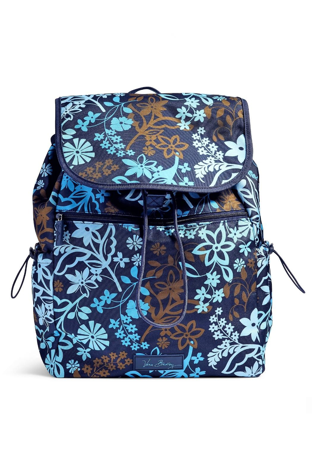 Vera Bradley Java Floral Drawstring Backpack - Main Image