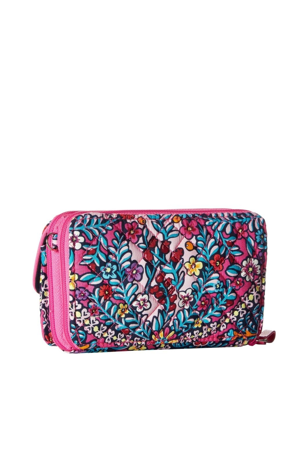 Vera Bradley Kaleidoscope All-In-One Crossbody - Front Full Image