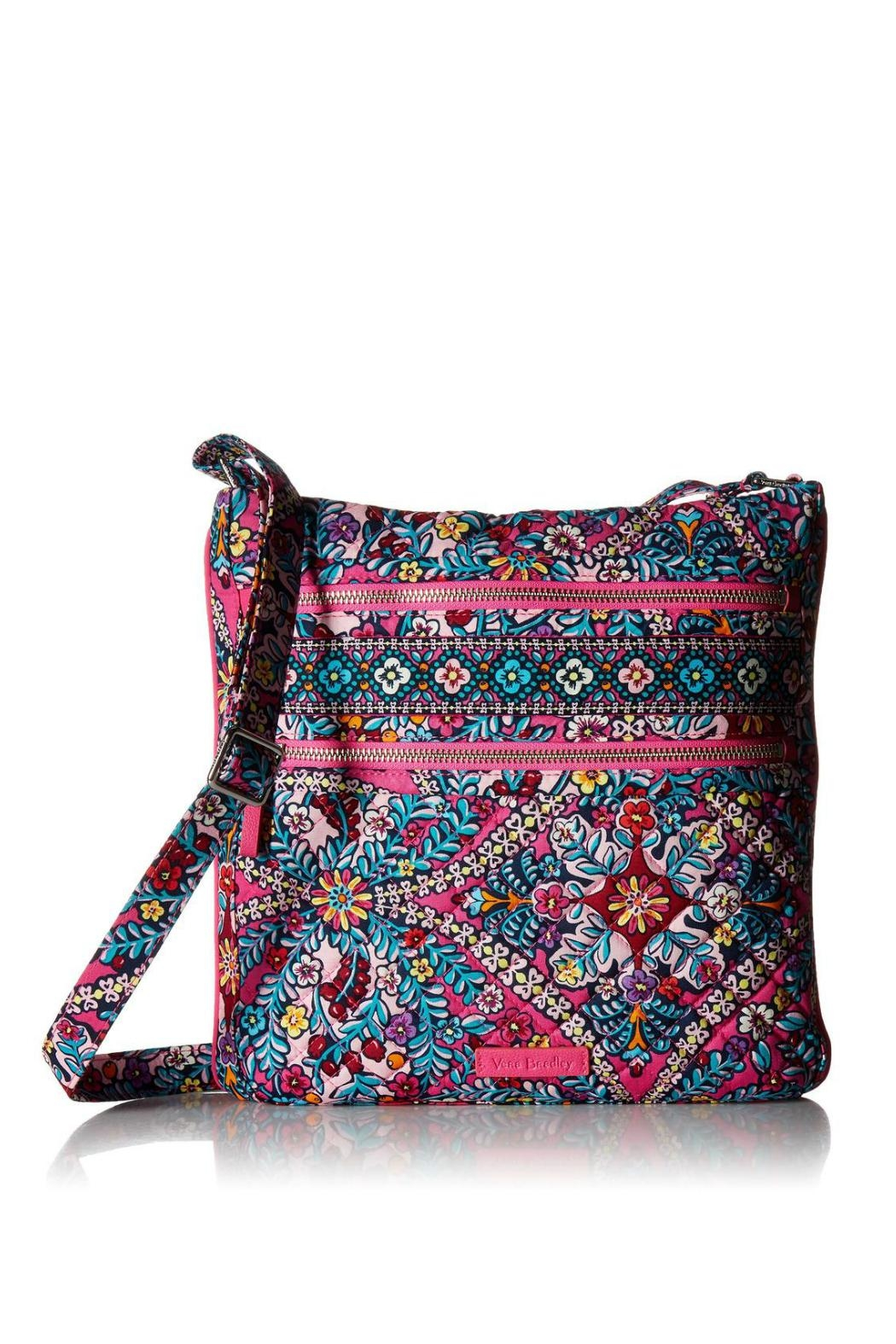 Vera Bradley Kaleidoscope Iconic Hipster - Front Cropped Image