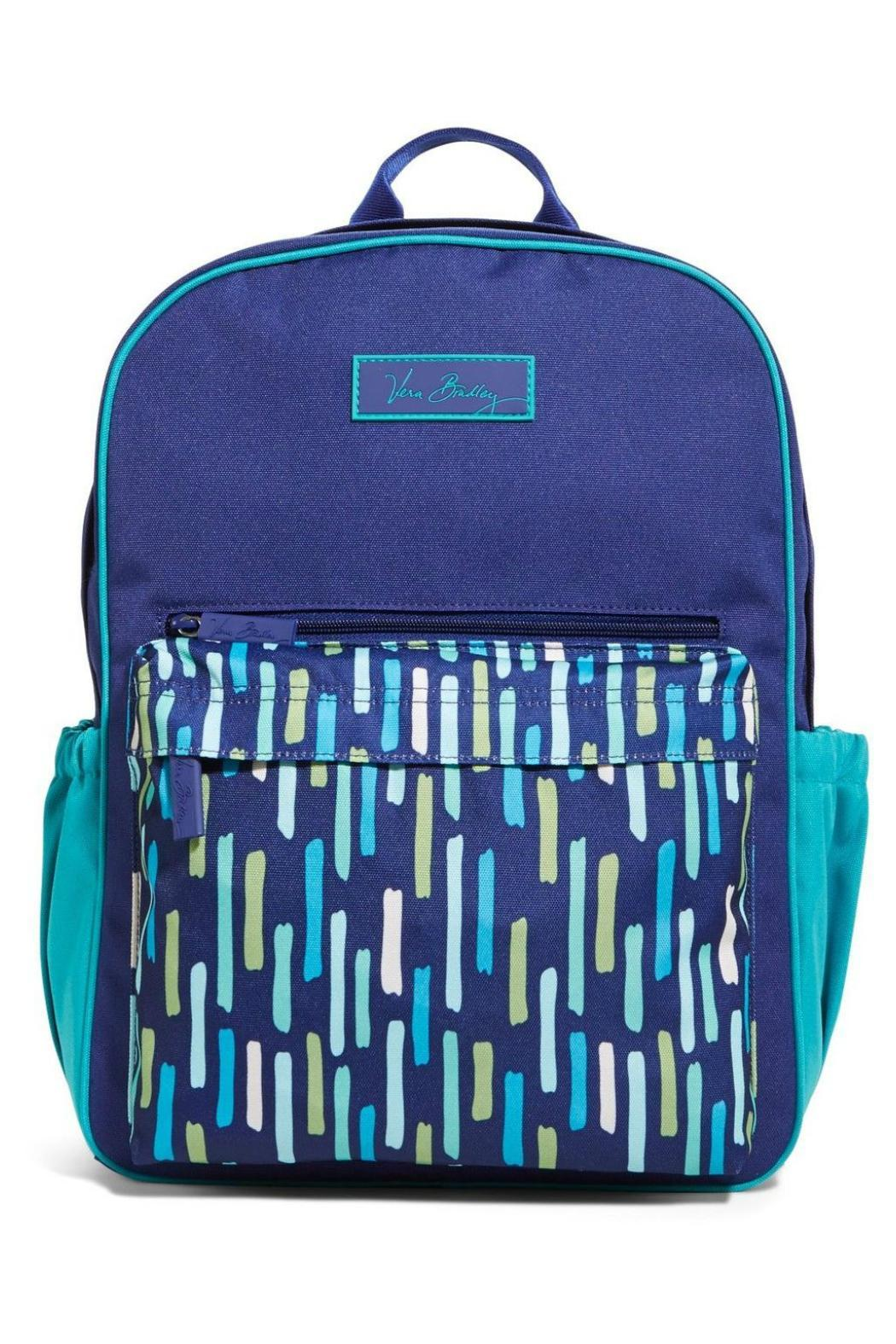 Vera Bradley Katalina Colorblock Backpack - Front Cropped Image