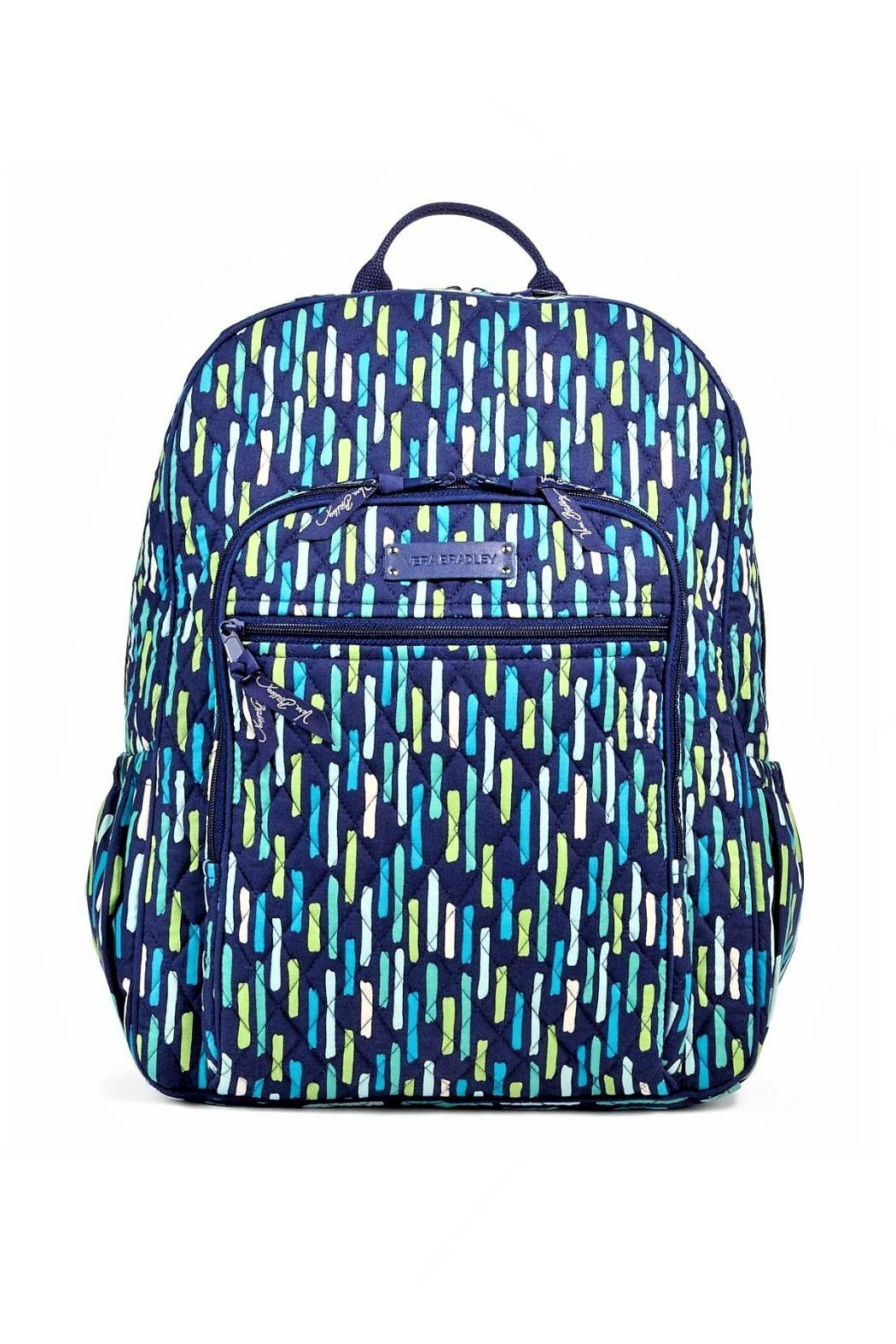 298cc5572c Vera Bradley Katalina Showers Campus Backpack - Front Cropped Image