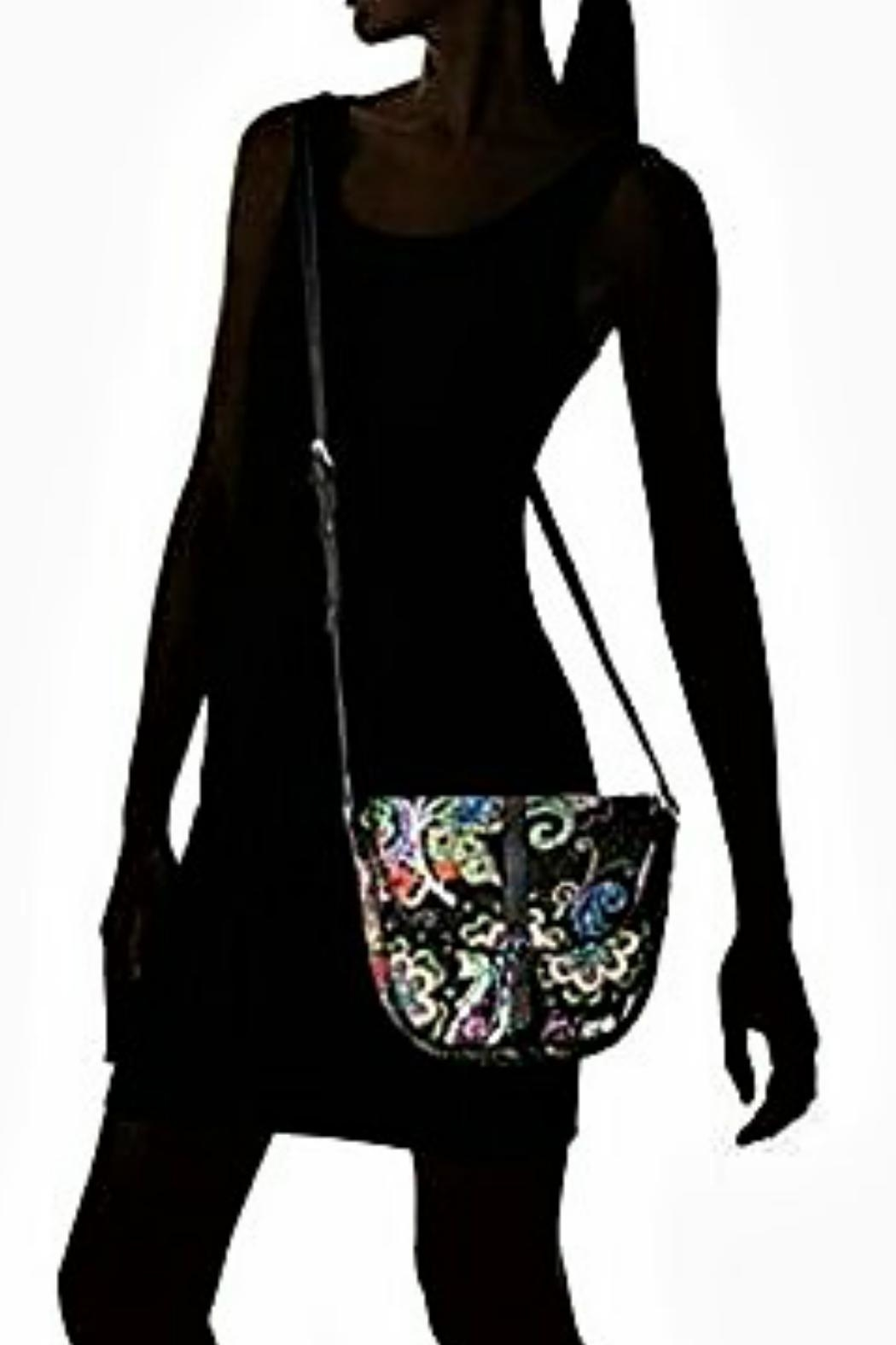 Vera Bradley Kiev Paisley Slim-Saddle - Side Cropped Image
