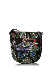 Vera Bradley Kiev Paisley Slim-Saddle - Front full body