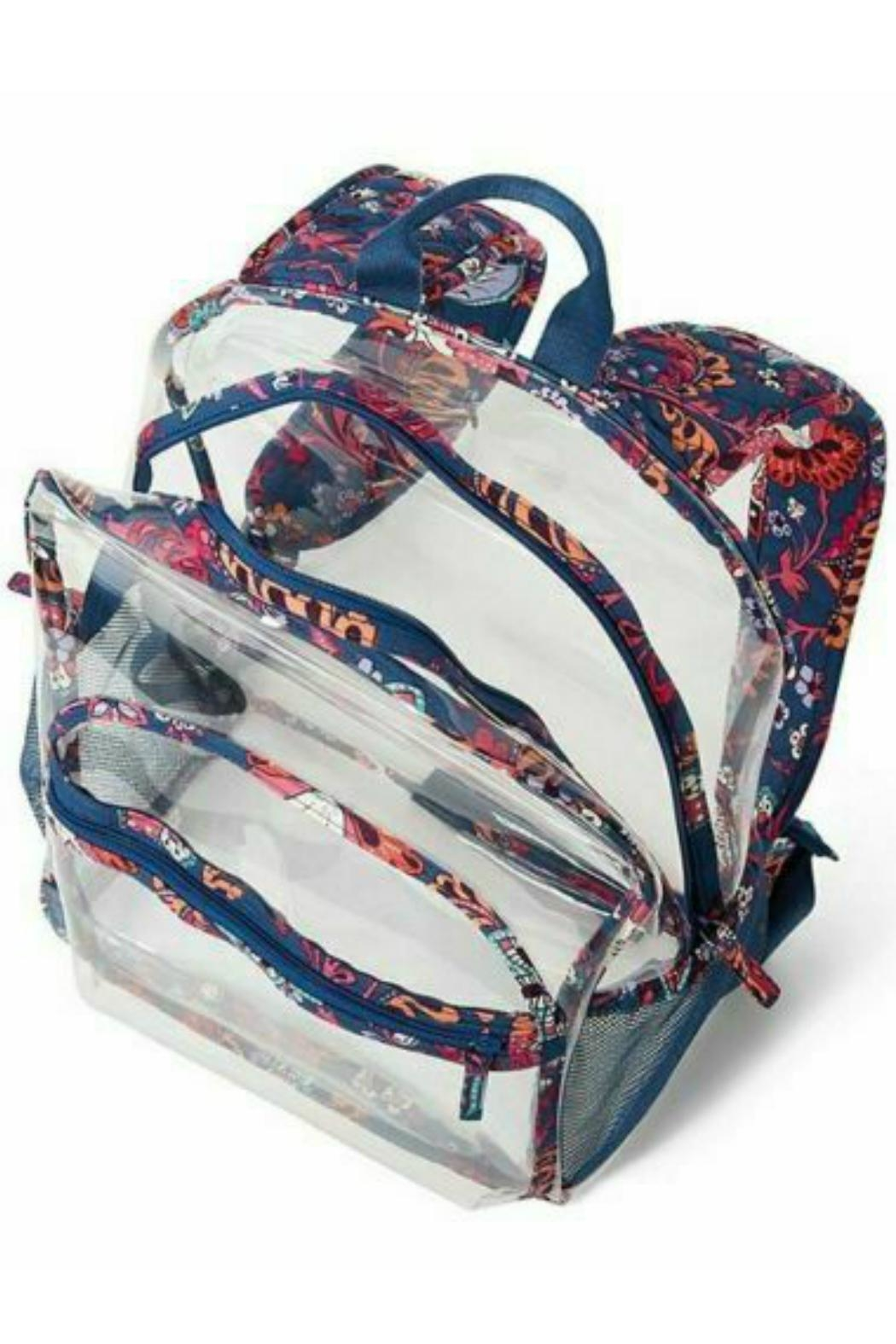 Vera Bradley Large Clearly Colorful - Back Cropped Image