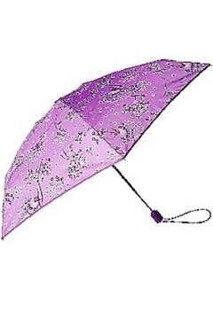 Shoptiques Product: Lavender Dandelion Mini-Travel-Umbrella