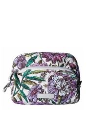 Vera Bradley Lavender Meadow Medium-Cosmetic - Product Mini Image