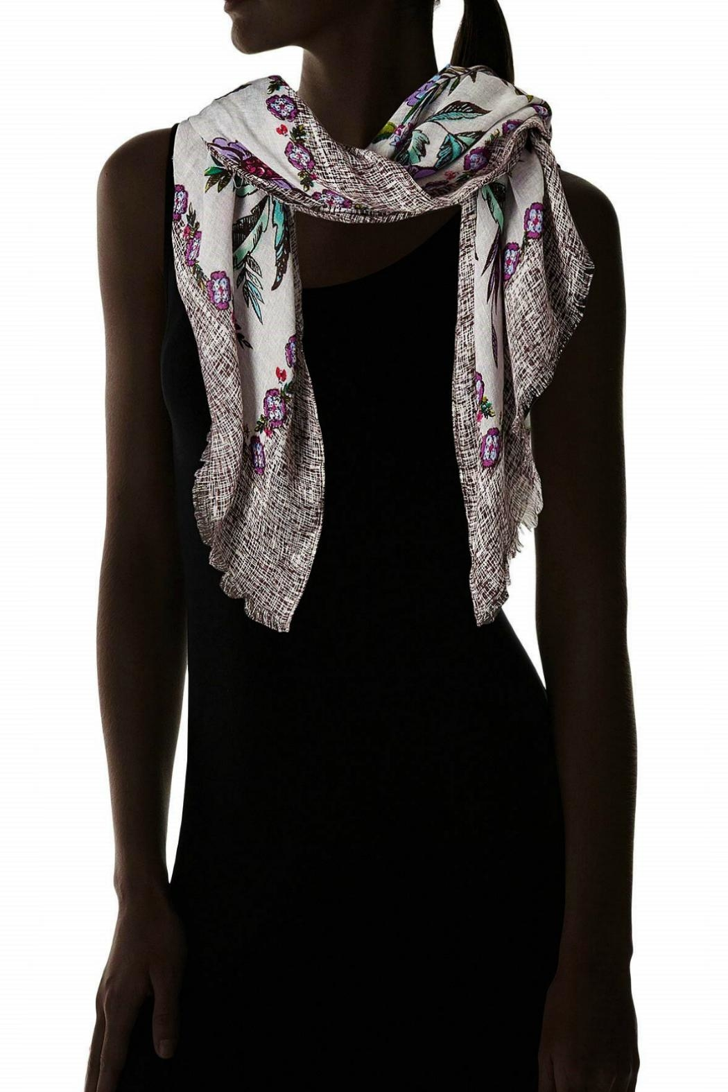 Vera Bradley Lavender Meadow Scarf - Side Cropped Image
