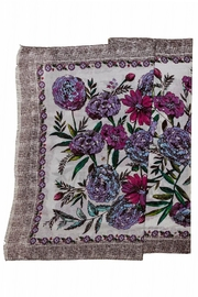 Vera Bradley Lavender Meadow Scarf - Front full body