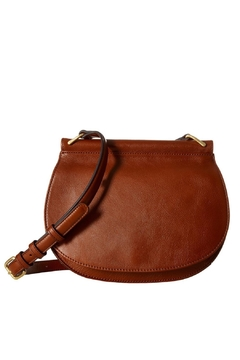 Vera Bradley Leather Brown Sidesaddle - Product List Image