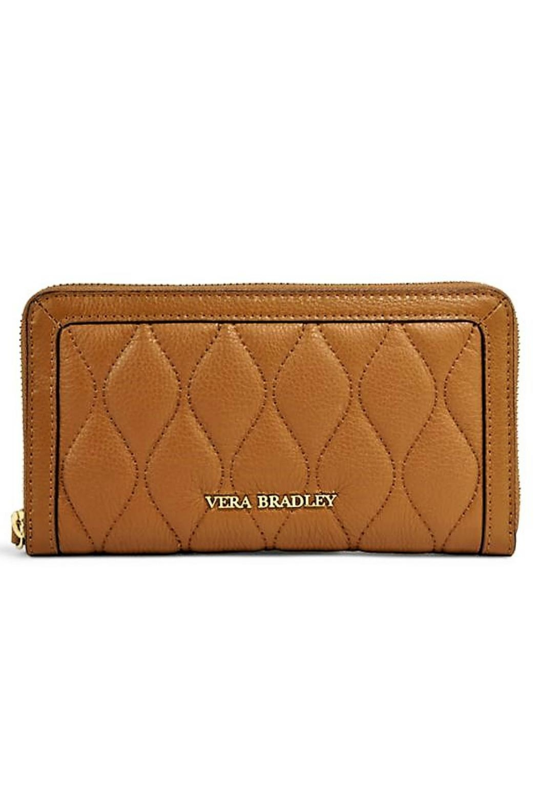 Vera Bradley Leather Georgia Wallet - Front Cropped Image