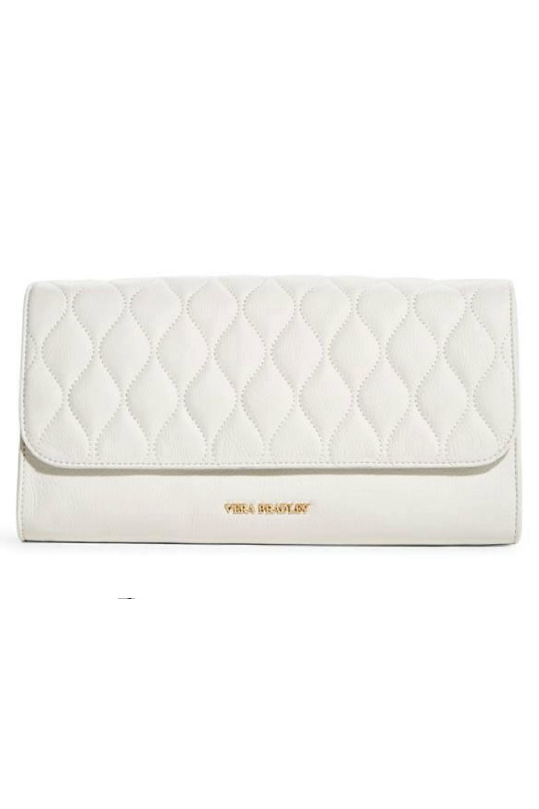 Vera Bradley Leather Harper Clutch - Front Cropped Image