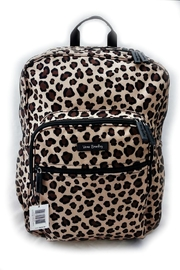 Vera Bradley Leopard Large Campus - Front cropped